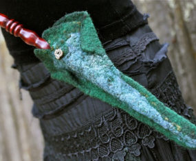 Mosshollow Wand Sheath - Green