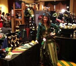 Mosshollow Pantheacon Booth 2014