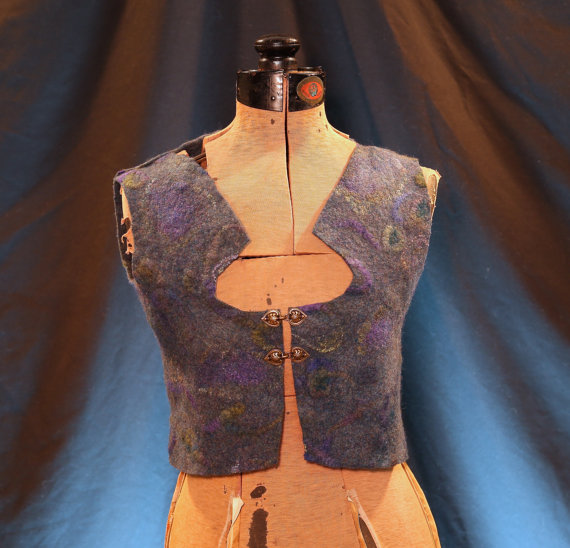 Mosshollow Bodice Lake Vest - Front View