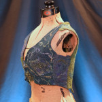 Mosshollow Nunofelted Lake Faery Vest - Left View
